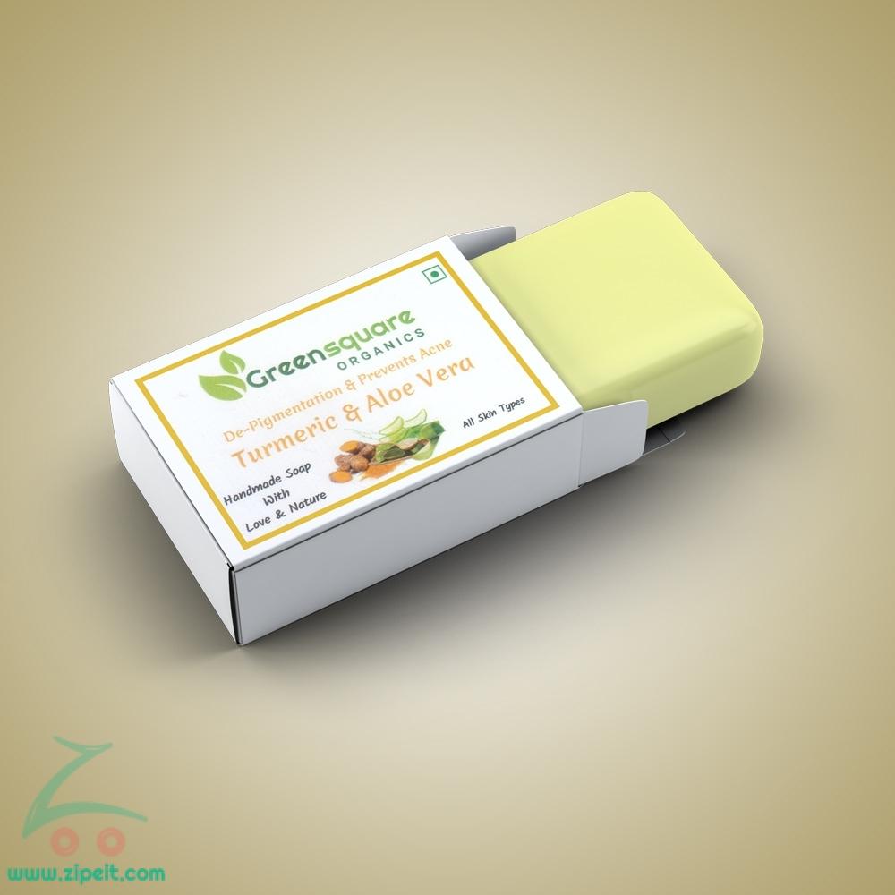 Turmeric & Aloe vera Bath Soap - 90g