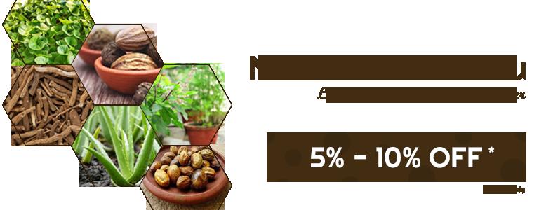 Naattu Marundhu 5% - 10% Off